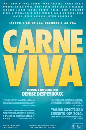Carne Viva with the actress Roberta Pasquinucci - Playbill