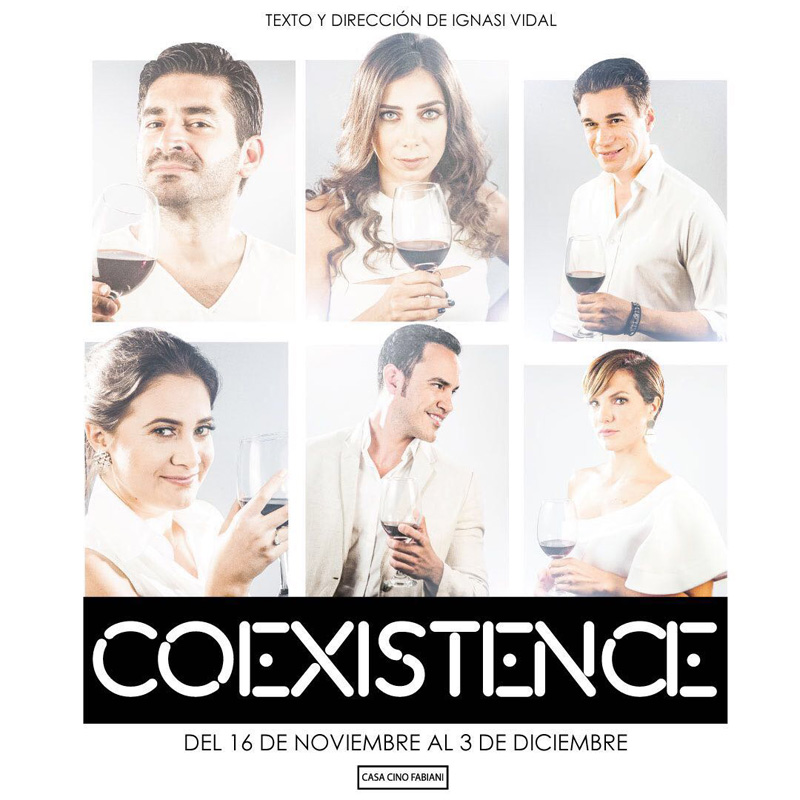 Coexistence with the actress Roberta Pasquinucci - Playbill