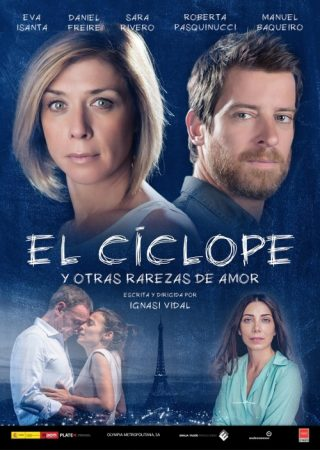 El Ciclope with the actress Roberta Pasquinucci - Playbill